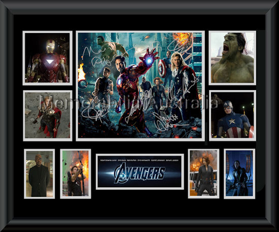 The Avengers montage mat