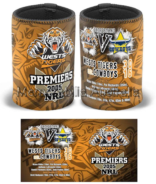 Wests Tigers 2005 Can Cooler