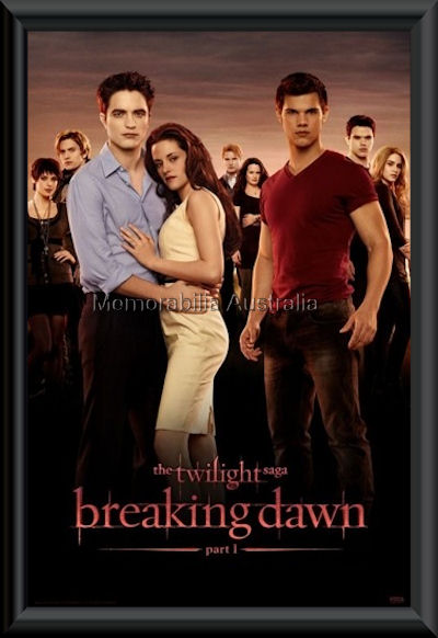 Twilight Breaking Dawn Framed