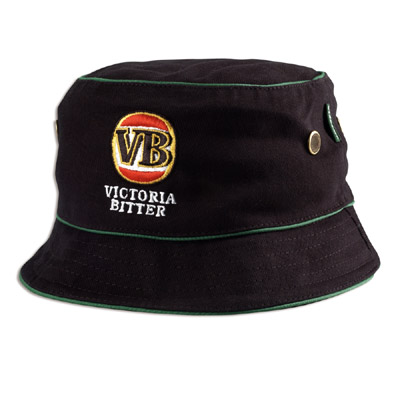 VB Black Bucket Hat