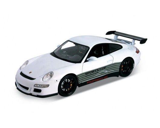 1:18 Welly Porche 911 GTS RS (997) Sport-White