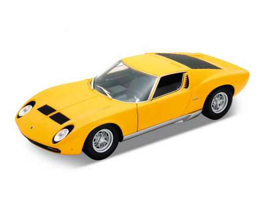 1:18 Welly 1971 Lamborghini Muira SV-Asst