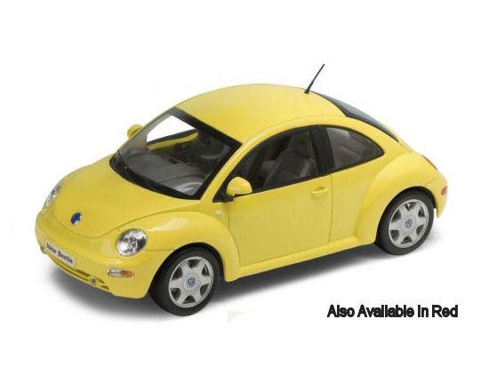 1:18 Welly VW Beetle New - Asst