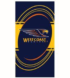 West Coast Eagles Beach Towel
