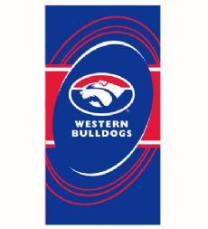 Western Bulldogs Beach Towel