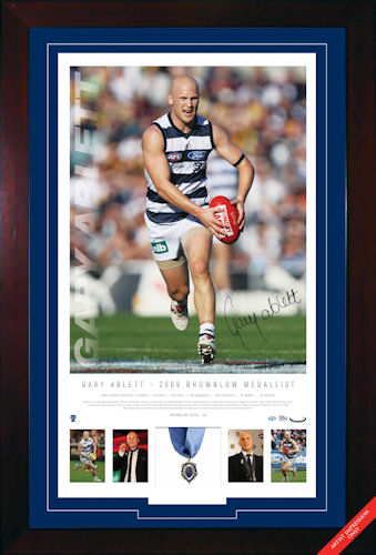 Ablett 2009 Brownlow Signed Panoramic