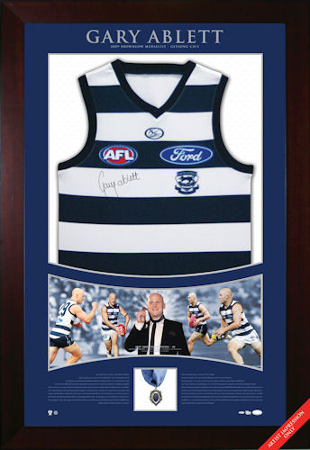 Ablett 2009 Brownlow Signed Jumper