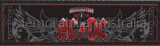 ACDC Australian Tour Bar Runner