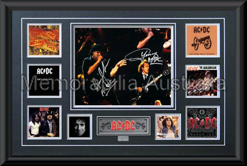 ACDC LE Montage Mat Framed
