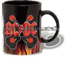 ACDC Flashing Coffee Mug
