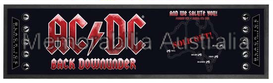 ACDC Tour Bar Runner