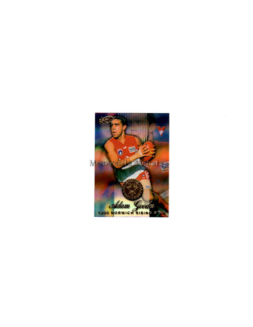 Adam Goodes AFL 2000  Holo Card
