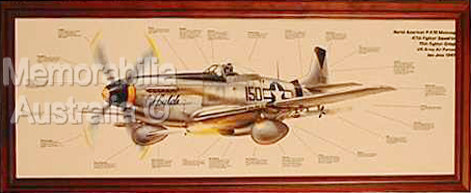 Mustang Aviation Print