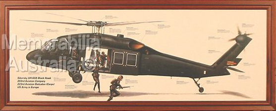 Blackhawk Helicopter Print