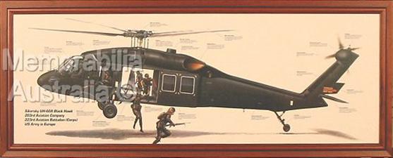 Blackhawk Helicopter Print