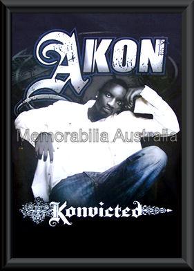 Akon Poster Framed