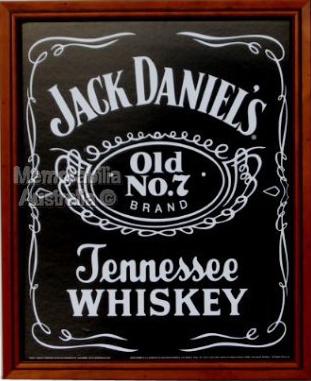 Jack Daniels Logo Poster