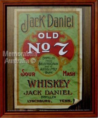 Jack Daniels Old 7 Poster