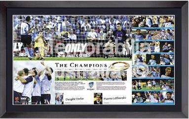 2006 Sydney FC Lithograph