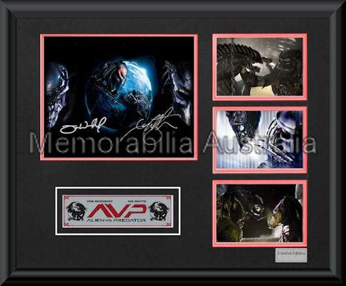 AlienvsPredator LE Montage Framed