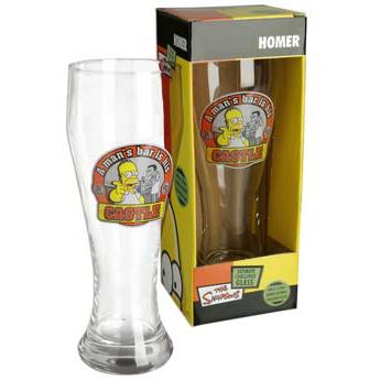 Simpsons Challenge Glass