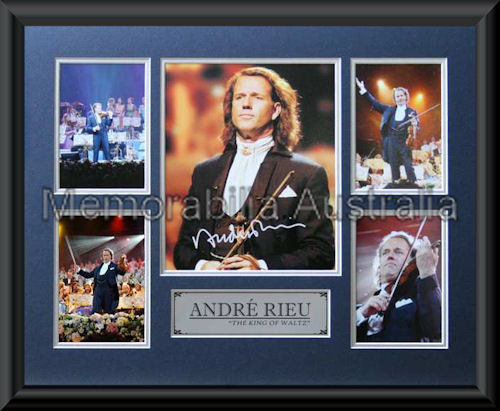 Andre Rieu LE Montage Mat Framed