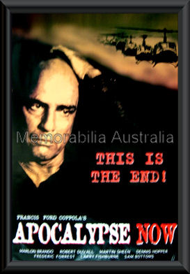 Apocalypse Now Movie Poster Framed