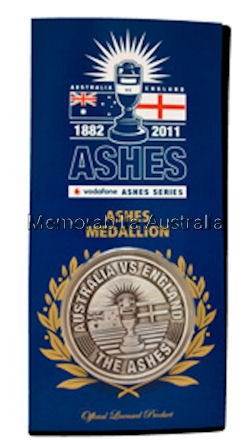 ASHES 2010/11 Medallion