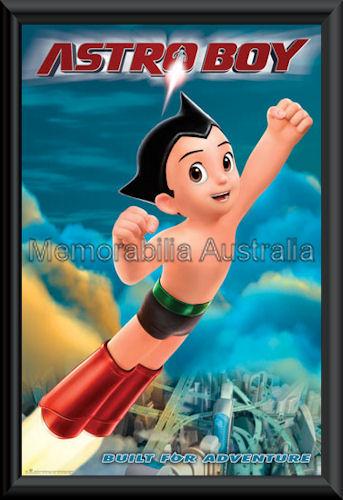 Astroboy Poster Framed