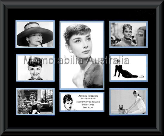 Audrey Hepburn montage
