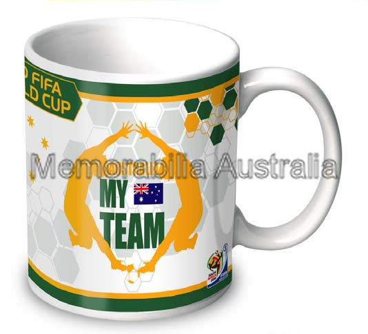 Australia My Team World Cup 11oz Mug