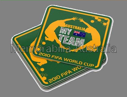 Australia My Team Set 4 Coasters