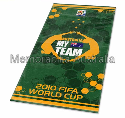 Australia World Cup Beach Towel