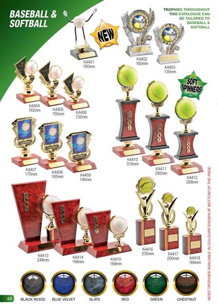 Baseball / Softball Trophies
