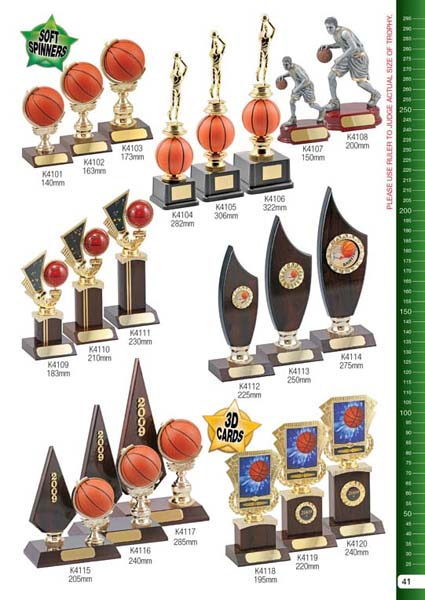 Basketball Trophies 1
