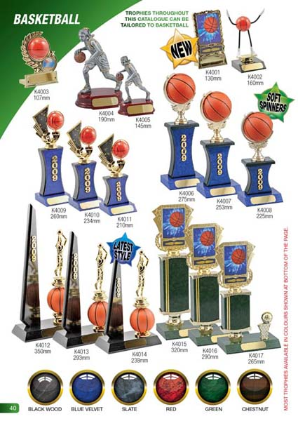 Basketball Trophies 2