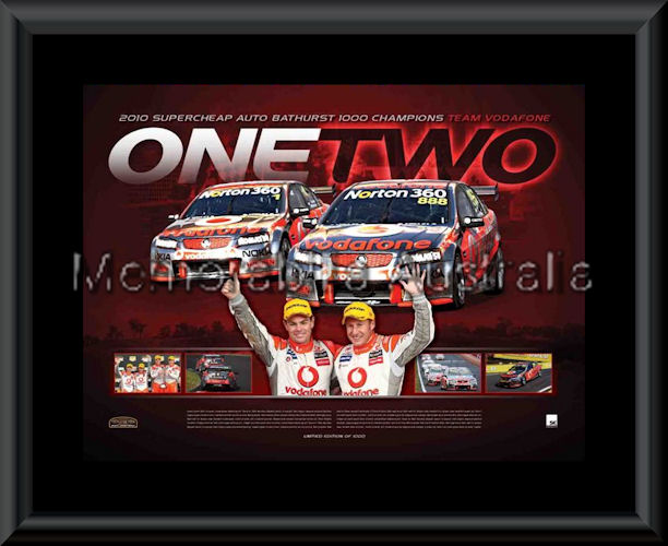 Bathurst 2010 One Two LE Print Framed
