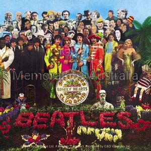 Sgt Peppers Album Sticker