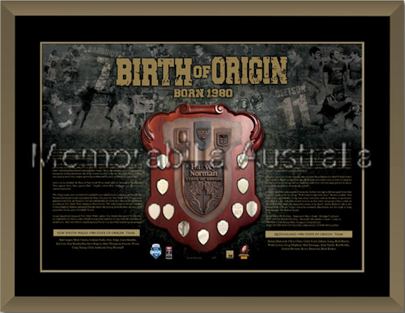 Birth Of Origin LE Framed