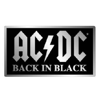 ACDC Belt Buckle