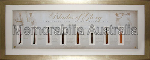 Blades Of Glory Bats LE Framed
