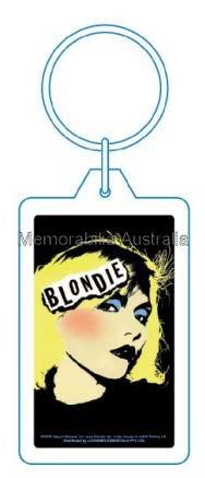 Blondie PVC Key Ring