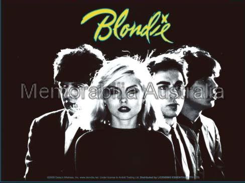 Blondie Group Image Sticker