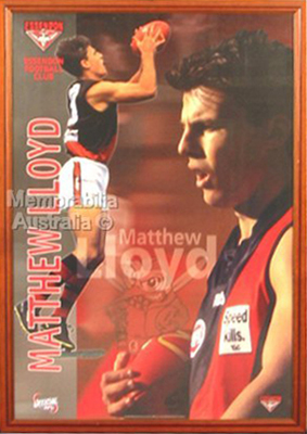 Matthew Lloyd Framed Poster