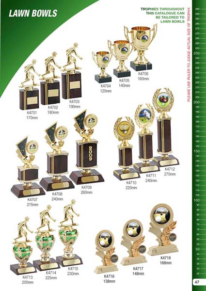 Lawn Bowls Trophies