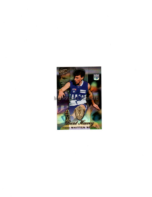 Brent Harvey 2000 AFL Holo