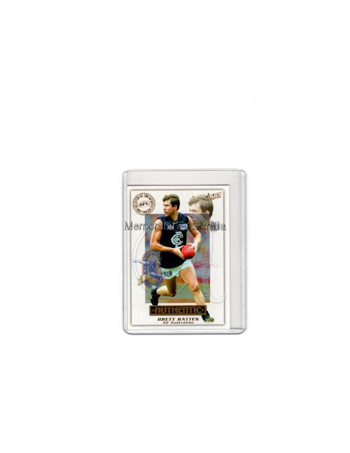 Brett Ratten AFL 2001 All Australian