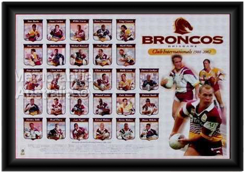 Brisbane Broncos Club Internationals