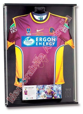 A Man Called Tallis - Gorden Tallis Career Jersey