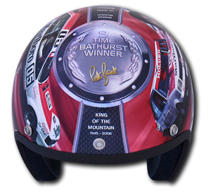 Peter Brock Commemorative Bathurst Helmet